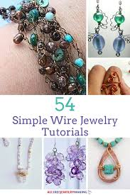 large bead necklace designs images 54 simple wire jewelry making tutorials png