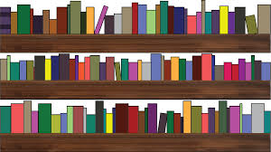 bookshelves circular walking bookshelf white library 1 of 19