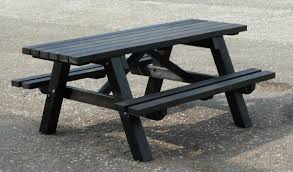 recycled plastic picnic tables wheelchair accessible recycled plastic picnic table disability advice