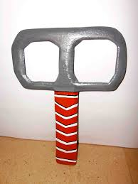real returning homemade handcrafted thor s hammer boomerang