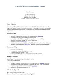 executive curriculum vitae cover letter personal resume samples personal assistant resume