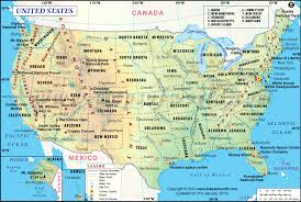 map usa usa map major tourist attractions maps