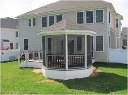 deck designs screened in porches back porch ideas home stamped