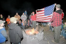 Fall Flags Yard Troop Retires American Flag U003e Fort Riley Kansas U003e Article Display