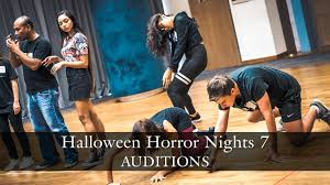 hhn7 scare actor auditions youtube