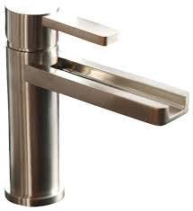 Waterfall Bathroom Faucet Contemporary Bathroom Sink Faucets - Designer bathroom fixtures