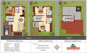 Home Design 40 50 by House Plan For 30x50 Plot West Facing Arts