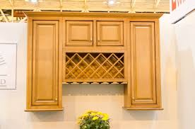 New Windsor Wall Cabinet Display With Wine Rack Kitchen Cabinet - Wall cabinet kitchen