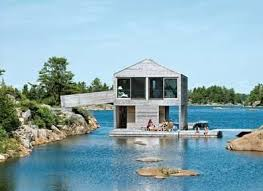 what is an a frame house floating houses cabins become a modern day huckleberry finn