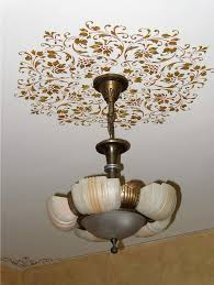 What Size Ceiling Medallion For Chandelier Ceiling Stencils Hampton Ceiling Medallion Royal Design Studio