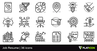 Resume Icons Free Job Resume 36 Free Icons Svg Eps Psd Png Files
