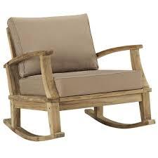 Teak Sectional Patio Furniture - marina patio teak rocker u2014teak patio chair u2014 manhattan home design