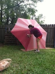 Paint Patio Umbrella Spray Paint Outdoor Umbrella For The Home Pinterest Outdoor