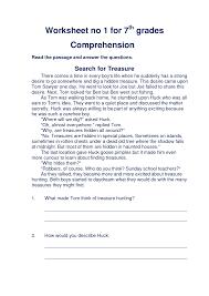 sixth grade printable english worksheets bloomersplantnursery com
