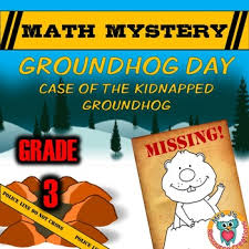 groundhog day math mystery activity 3rd grade by mrs j u0027s