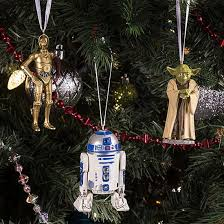 wars tree decorations at thinkgeek retro to go