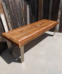 reclaimed wood outdoor table custom outdoor indoor rustic industrial modern reclaimed