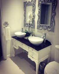 Old Dresser Made Into Bathroom Vanity How To Turn A Dresser Into A Double Vanity Diy Your Home