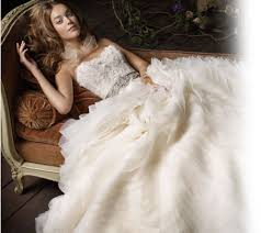 Preowned Wedding Dress Lazaro Preowned Wedding Dresses Once Wed
