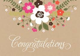 congratulations card rustic floral congratulations card achievement by brookhollow