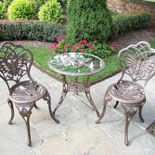 Butterfly Patio Chair Oakland Living Rose Patio Bistro Set Hayneedle