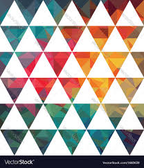 pattern of geometric shapes royalty free vector image