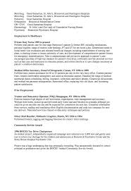 Lvn Sample Resume by Sample Resume For Lvn Nurse Learn How To Write A Prominent Lpn