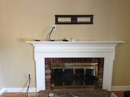 where to put tv tv over fireplace where to put components home decor 2018