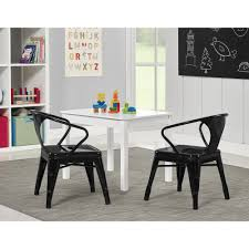 better homes and gardens kids u0027 metal table with set of 2 chairs