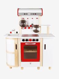 vertbaudet cuisine bois grande cuisinette en bois hape multicolore hape
