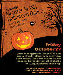 Halloween Monster Mash by Springfield Park District Park News