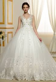 v neck keyhole backless ball gown beading long sleeves wedding