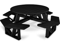 Polywood Furniture Dealers Polywood Park Recycled Plastic 53 Round Table Ph53