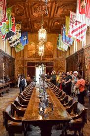 Hearst Castle Californias Enchanted Hill  Out Of Office - Hearst castle dining room