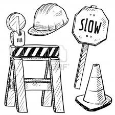 construction sign coloring page google search kids birthdays for pages jpg