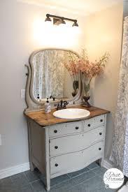 Old Dresser Made Into Bathroom Vanity Dresser Made Into Bathroom Vanity