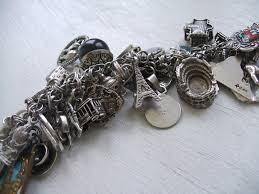 antique charm bracelet charms images Vintage jewels and gadgets my traditional vintage charm bracelet JPG