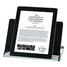 tablette cuisine cook porte livre de cuisine tablette pliable rösle en situation