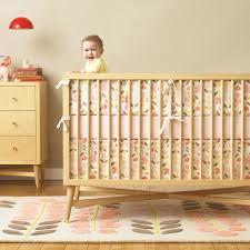 Dwell Crib Bedding Rosette Nursery Bedding Collection Via Dwell Studio Midcentury