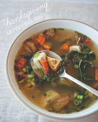 thanksgiving leftovers soup the kitchy kitchen