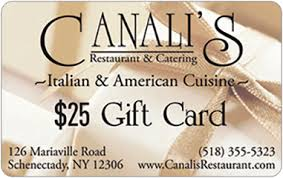 restaurant egift cards canalis restaurant catering egift card email delivery gift