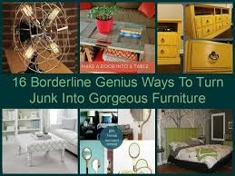 Upcycling Furniture - 16 upcycled furniture projects