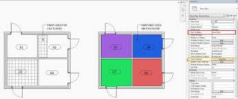 Colour Scheme by Revit Link Parts U0026 Colour Schemes