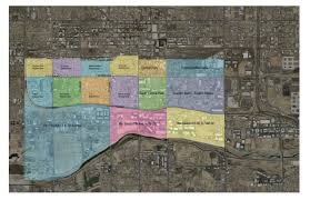 Phoenix Road Map by Phoenix Revitalization Corporation Interactive Web Map