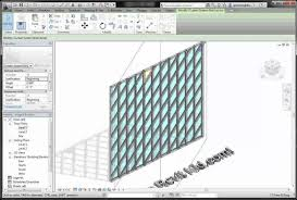 revit tutorial beginner create curtain wall family revit www elderbranch com