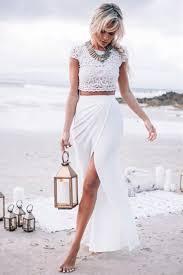 white slit maxi skirt dress ala