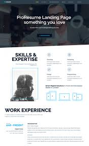 Best Resume Template Websites by Magnificent Meraki One Page Resume Html Template By Multidots