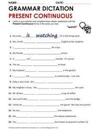 present tense verbs worksheet englishlinx com board pinterest