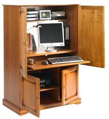 bureau informatique fermé armoire informatique ferme bureau meuble informatique ferme a clef