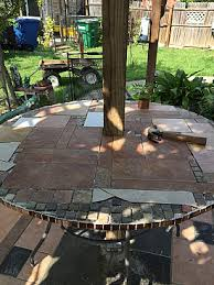 patio table with removable tiles 7 darling diy decor projects that use leftover tile networx